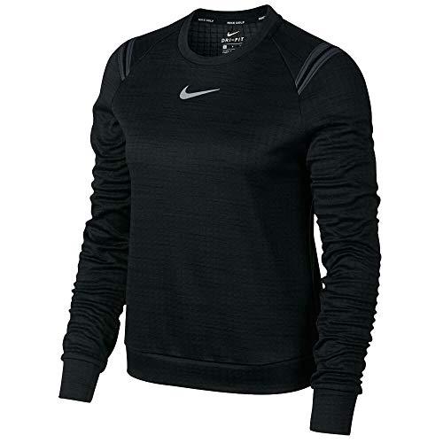 Nike Damen Pullover 855247 M Schwarz (Black)