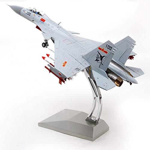 JHSHENGSHI Flugzeugmodell Metal Fighter Militärmodell, Maßstab 1:72 J-15 Flying Shark Fighter Plane