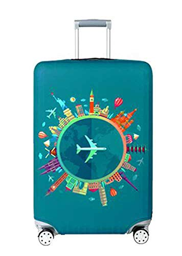 Hibasing Gepäck Abdeckung Waschbarer Reise Elastischer Koffer Trolley Schutzüberzug Für 18-32 Zoll Gepäck