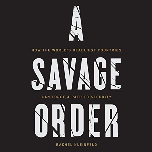 A Savage Order audiobook cover art