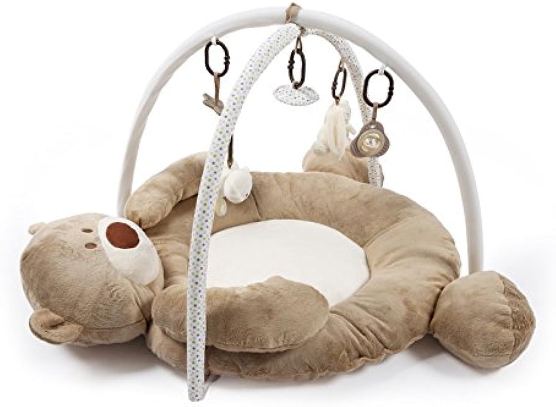 Misslight Spielmatten Activity Gym Musical Playmat Baby Spielbgen Boden Erlebnisdecke mit Soft Spielzeug Premium Wasserdicht Hanging Spielzeug (Style1)