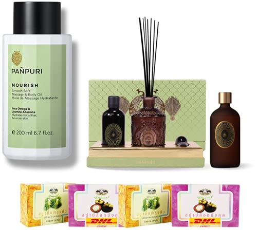 Set Attention brand A91 Panpuri Smooth Soft Body Your Massage Personal Elegant