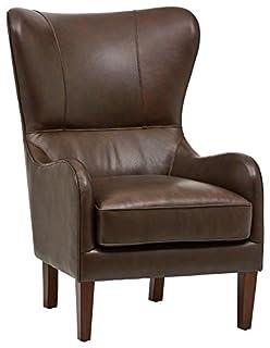 Finch Morgan Wingback Chair, Espresso Brown (B0746H7RL8) | Amazon price tracker / tracking, Amazon price history charts, Amazon price watches, Amazon price drop alerts