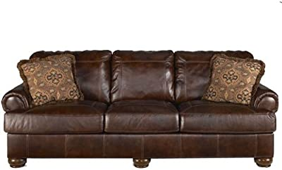 Amazon.com: Ashley Hannalore Contemporary Cafe Faux Leather ...