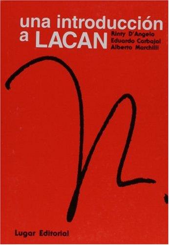 Una Introduccion A Lacan (Spanish Edition)