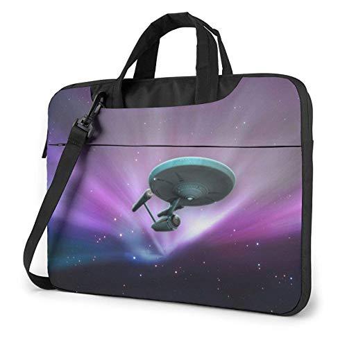 15.6 inch Laptop Shoulder Briefcase Messenger St-arTr-ek Tablet Bussiness Carrying Handbag Case Sleeve