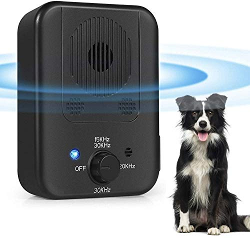 Luatuer Anti Dog Barking Device, Upgrade Ultrasonic Dog Bark Deterrent,...