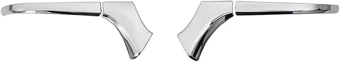 サムライプロデュース トヨタ 新型ハリアー 80系 専用 サイドミラー ガーニッシュ アンダーカバータイプ 4P 鏡面仕上げ