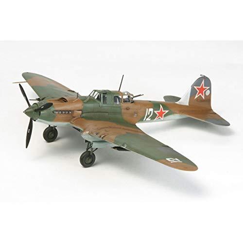 タミヤ 1/72 ウォーバードコレクション No.81 ソビエト空軍 イリューシン IL-2 シュトルモビク プラモデル ...