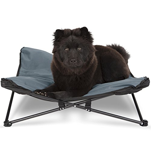 Paws & Pals Elevated Pet Bed for Dogs & Cats...