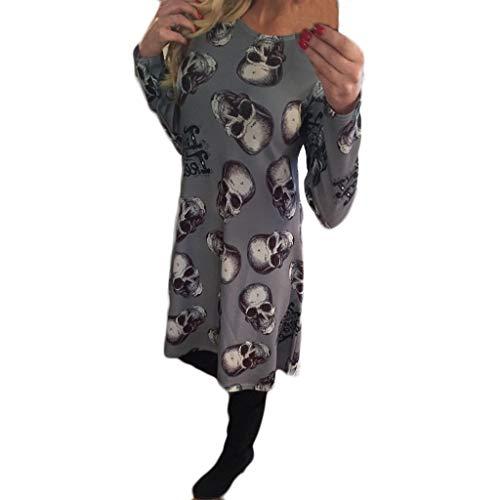 TOFOTL Figurumspielende figurbetonte Kleider Damen Halloween kostüme 8 Kleider Damen 68er süße pakistanischeschickes Schlank jährige 90 Kleider Damen Festliche 2019 Halloween Kleider Kleid schminke