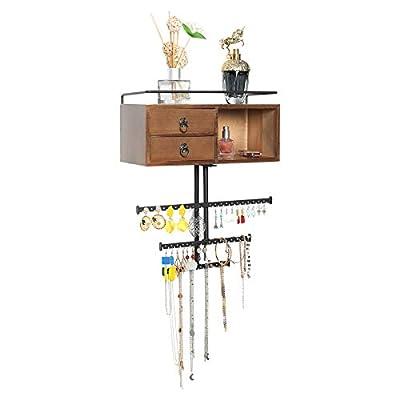 X-cosrack Jewelry Tree Stand Organizer, 3 Tier ...