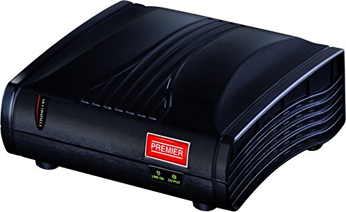 United Premier 1 Kva Multikonect Voltage Stabilizer(Black)