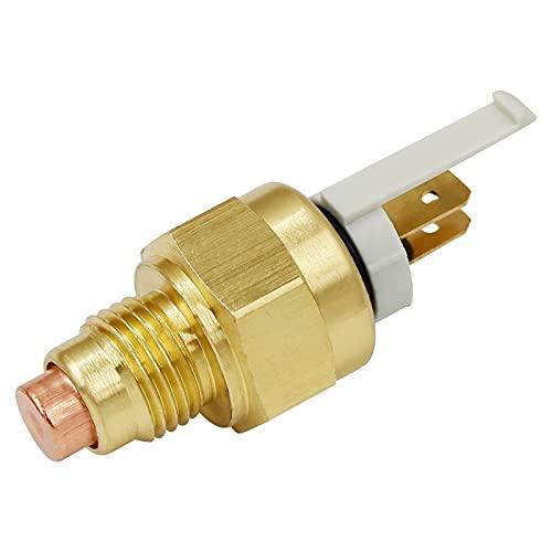 Road Passion Interruptor del ventilador de temperatura del agua compatible para Kawasaki EX500 Ninja 500 1994-2005 EX500 Ninja 500R 2006-2009 ZX600C NINJA 600R 1989-1997