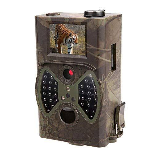 "GJNVBDZSF Wildlife-Kamera HC-300A Aufklärungskamera 12mp 1080p HD 940nm Infrarot-Wildlife-Tracking-Kamera 2\""Tft-Display"