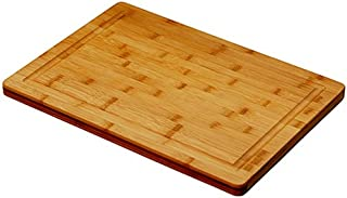 Simply Bamboo Brown Valencia Bamboo Cutting Board w/ Juice Groove - 20