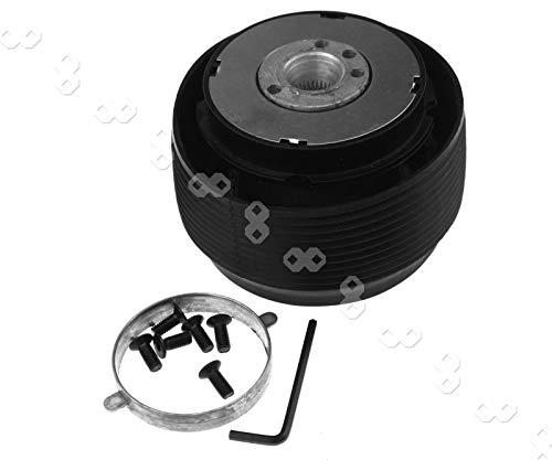 Quick Release Hub Adapter Lenkradnabenadapter Lenkradnabe Kit Adapter SCHWARZ Lenkrad-Schnellspanner Adapter