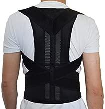 Adjustable Posture Corrector, Back Shoulder Lumbar Waist Supporting Brace Belt, Medical Device to Improve Bad Posture, Round Shoulder, Thoracic Kyphosis, Back Pain Relief for Men and Women (XL)