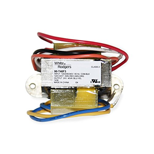 Emerson Thermostats 90-T40F3 Class 2 Transformers Energy Limiting with Foot Mount, 24V