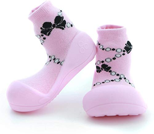 Attipas Chaussettes collection-thick chaud d'hiver, Baby First Walker Chaussures – Chaussures Pantoufles pour enfant 6–12, 12–18, 18–24 mois, 2–3 ans