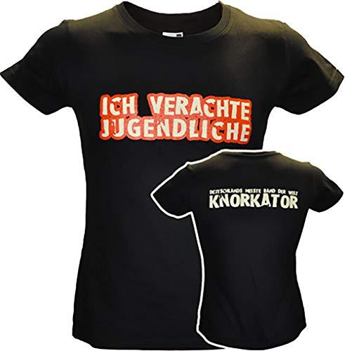 Knorkator Girly-Shirt verachte Jugendliche (XL)