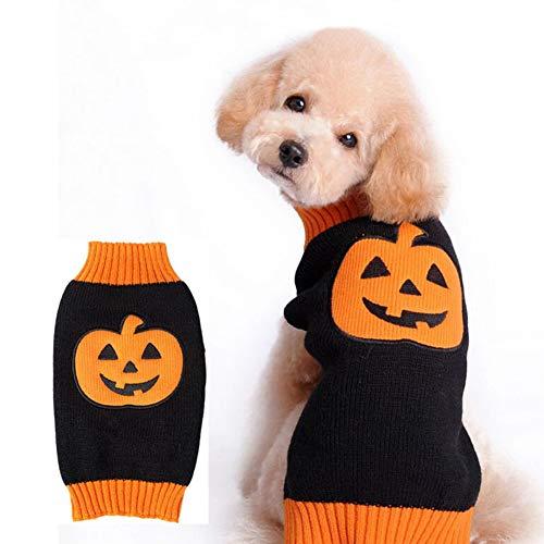 Wavel Halloween perro paño Jersey, ropa de cachorro, lindo