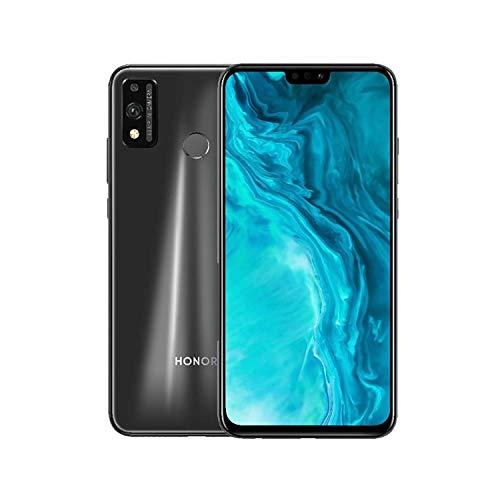 Honor 9X Lite Smartphone,48MP Telecamera,NFC,4GB RAM 128GB ROM Cellulare, 6.5''Full HD+ Dual Sim,Sblocco viso e Impronte Digitali, con Auricolare Classico (Nero)