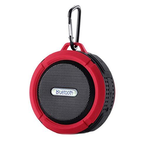 rongweiwang C6 Bluetooth Altavoz al Aire Libre Impermeable sin Hilos de la Caja acústica Caja de Sonido Caja de Sonido inalámbrico Soporte Inserte la TF-Tarjeta