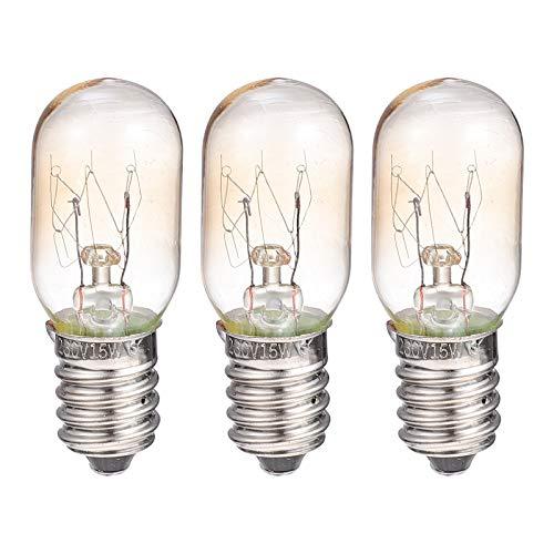3st E14 glödlampor ugnslampa ugn kylskåp ersättningslampor