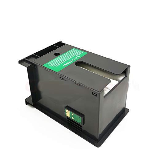 CMDZSW 1 x T6711 L1455 for Epson WF Tinta Box Mantenimiento 7610 7620 7720 7110 7210 7510 7615 7710 7715 3010 3520 3530 3540 3620 3640 3640 3640