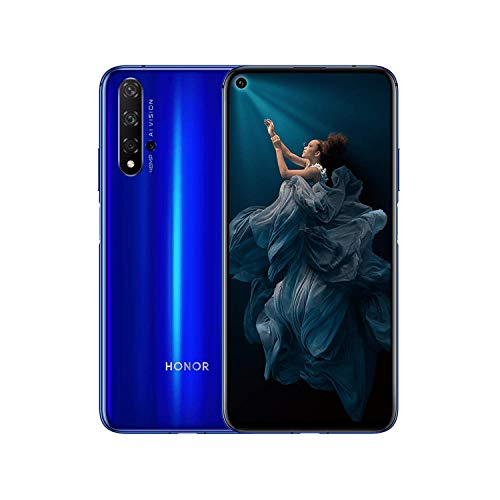 Honor 20 - Smartphone 128GB, 6GB RAM, Dual Sim, Sapphire Blu