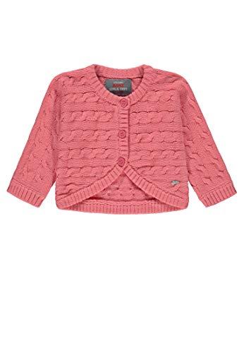 Kanz Baby-Mädchen Bolero 1/1 Arm Strickjacke, Rosa (Strawberry Pink Rose 2870), 74