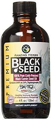 Theramune Amazing Herbs Black Seed Oil, 4 Oz from BLACK SEED