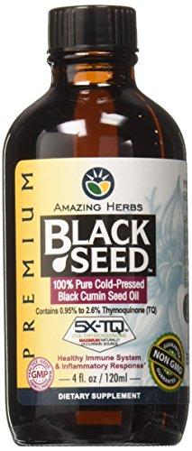 AMAZING HERBS - Premium Black Seed Oil - 4 fl. oz. (120 mL)