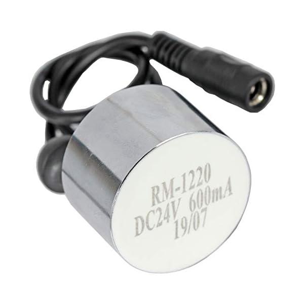 Spares2go Opti-Myst – Transductor de disco de cristal para chimenea eléctrica de pared Dimplex RM-1220