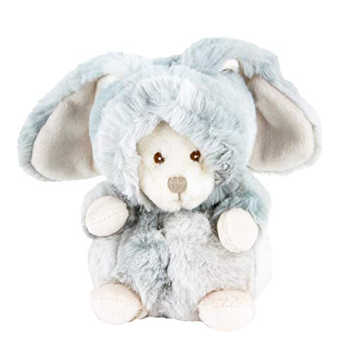 Barbara Bukowski Ziggy Winter Hase grau Verwandlungsbär Teddy 15 cm