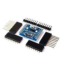 リアルタイムクロックデータログロガーシールドマイクロ SD WeMos WIFI D1 ミニボード + RTC ため DS1307 時計 arduino のラズベリー