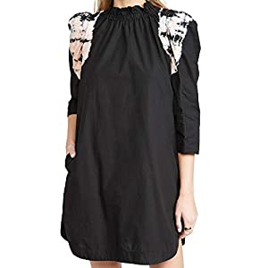 SEA Women's Daria Dye Puff Sleeve Dress