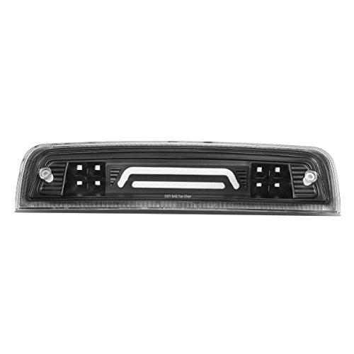 DNA Motoring 3BL-DRAM09-3D-LED-BK 3D LED Bar Third Tail Brake/Cargo Light Black/Clear [For 09-17 Dodge Ram Truck]