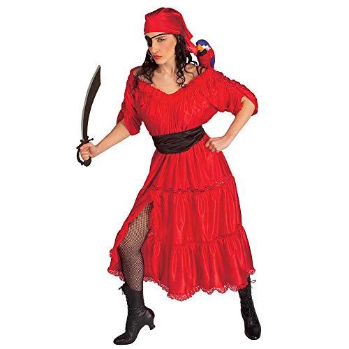 Widmann 44032 - Erwachsenenkostüm Karibik Piratenfrau M