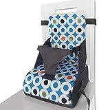 Brteyes Asientos elevadores de bebé, silla alta portátil para bebés de 6 meses a 3 años de edad, se pliega en una bolsa