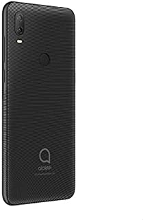 Alcatel 1V Dual SIM Mobile - 6.2 Inches, 32 GB, 2 GB RAM, 4G LTE - Volcano Black