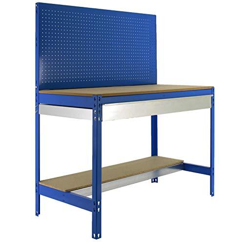 Simonrack bt-2 - Kit box-1500 azul madera
