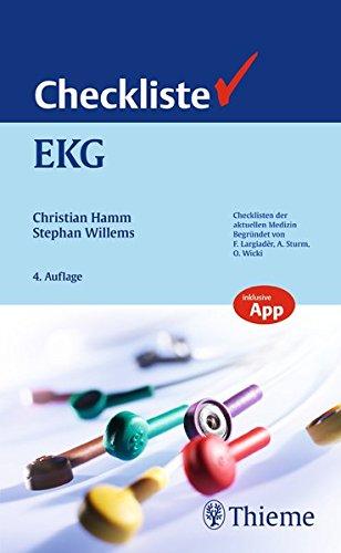 Checkliste EKG (Checklisten Medizin)