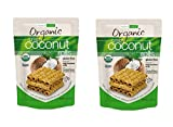 Organic Crispy Coconut Rolls Tropical Fields 2-Pack 11 oz Bag
