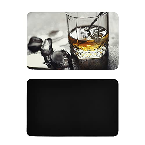 Square Fridge Magnet Colorful And Beautiful Wine Glasses Refrigerator Magnets For Adults Personalized Pvc Dishwasher Magnet Cover Funny Kitchen Accessories 4x2.5 Inch