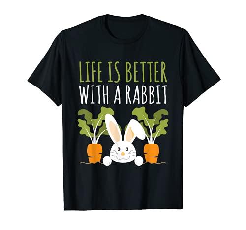 Kaninchen Leben ist besser mit einem Kaninchen Cute T-Shirt