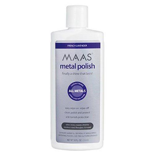 Maas International Liquid Metal Polish, 8-Ounce