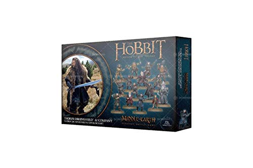 Games Workshop Warhammer The Hobbit: Thorin Oakenshield and Company Miniatures