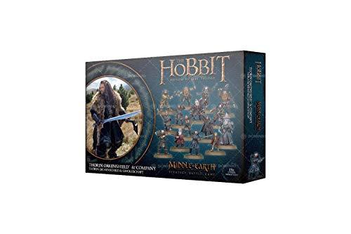 Games Workshop Hobbit Thorin Eichenschild und Gefolgschaft Middle Earth Herr der Ringe